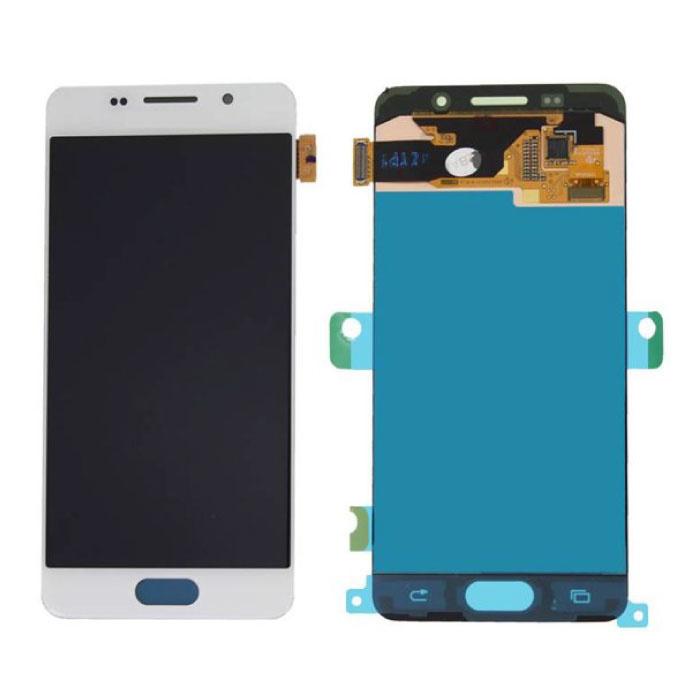 Samsung Galaxy A3 2016 A310 Scherm (Touchscreen + AMOLED + Onderdelen) A+ Kwaliteit - Wit