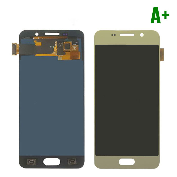 Samsung Galaxy A3 2016 A310 Screen (Touchscreen + AMOLED + Parts) A + Quality - Gold