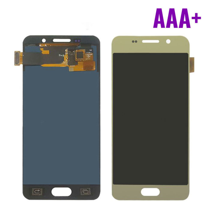 Samsung Galaxy A3 2016 A310 Screen (Touchscreen + AMOLED + Parts) AAA + Quality - Gold