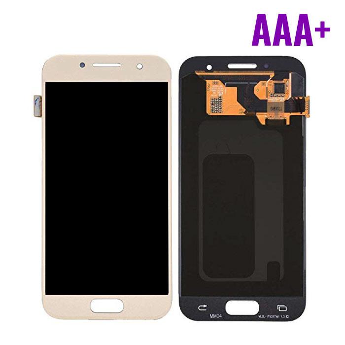 Samsung Galaxy A3 2017 A320 Scherm (Touchscreen + AMOLED + Onderdelen) AAA+ Kwaliteit - Goud