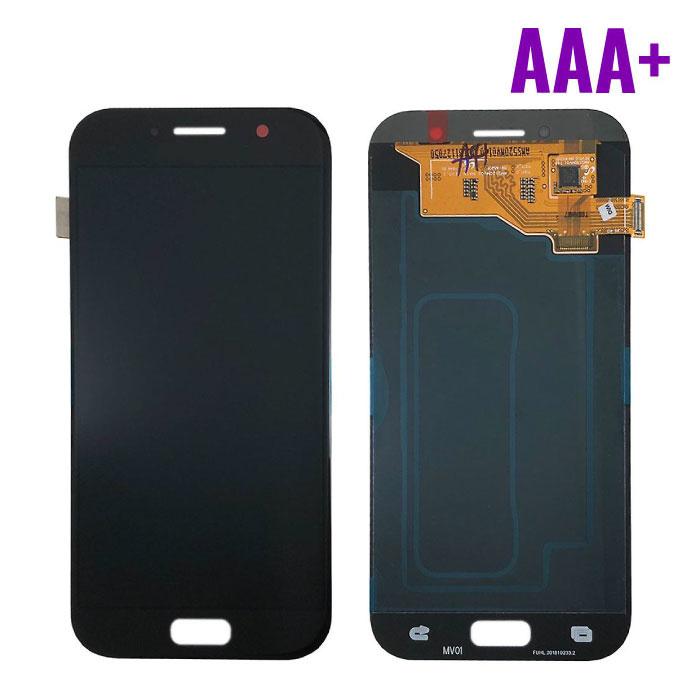 Samsung Galaxy A5 2017 A520 Scherm (Touchscreen + AMOLED + Onderdelen) AAA+ Kwaliteit - Zwart