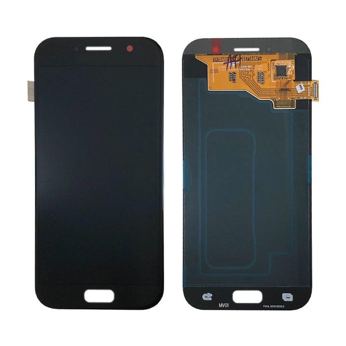 Samsung Galaxy A5 2017 A520 Scherm (Touchscreen + AMOLED + Onderdelen) A+ Kwaliteit - Zwart