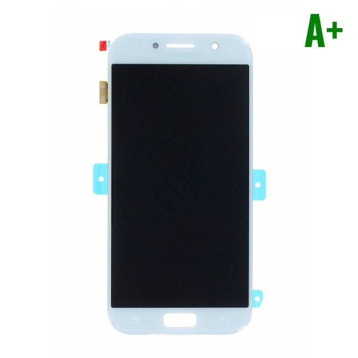 Samsung Galaxy A5 2017 A520 Scherm (Touchscreen + AMOLED + Onderdelen) A+ Kwaliteit - Blauw