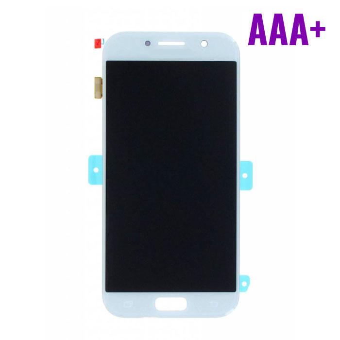 Samsung Galaxy A5 2017 A520 Scherm (Touchscreen + AMOLED + Onderdelen) AAA+ Kwaliteit - Blauw