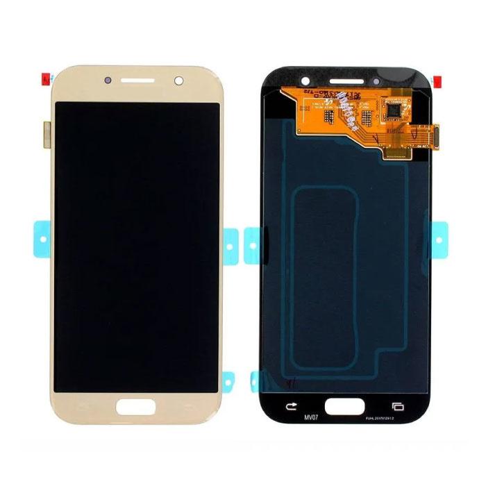 Samsung Galaxy A5 2017 A520 Scherm (Touchscreen + AMOLED + Onderdelen) AAA+ Kwaliteit - Goud