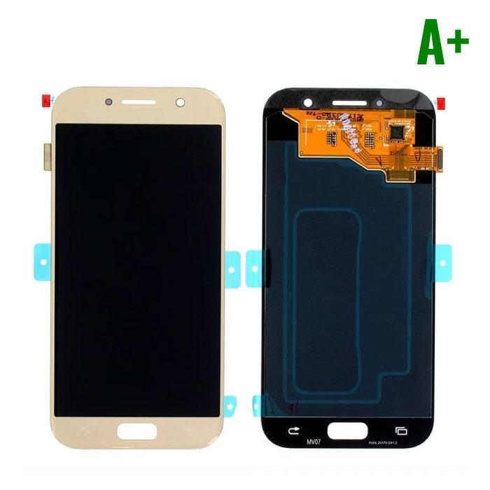 Samsung Galaxy A5 2017 A520 Scherm (Touchscreen + AMOLED + Onderdelen) A+ Kwaliteit - Goud