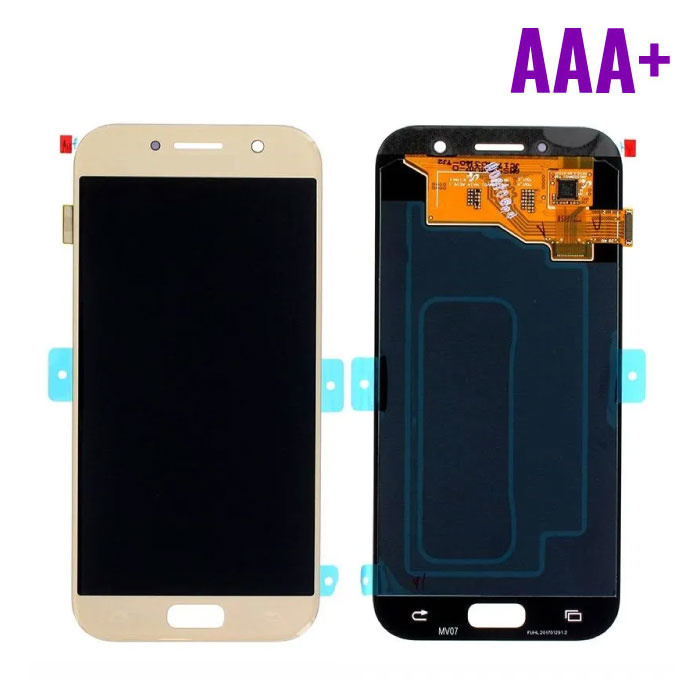 Samsung Galaxy A5 2017 A520 Screen (Touchscreen + AMOLED + Parts) AAA + Quality - Gold