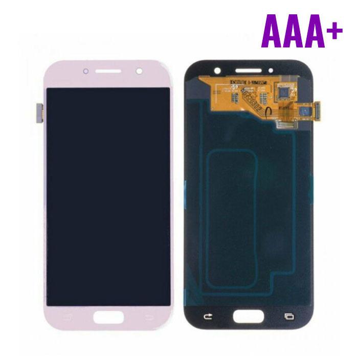 Samsung Galaxy A5 2017 A520 Scherm (Touchscreen + AMOLED + Onderdelen) AAA+ Kwaliteit - Roze