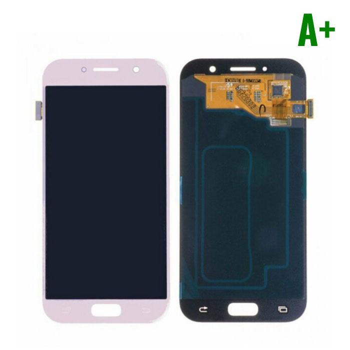Samsung Galaxy A5 2017 A520 Scherm (Touchscreen + AMOLED + Onderdelen) A+ Kwaliteit - Roze