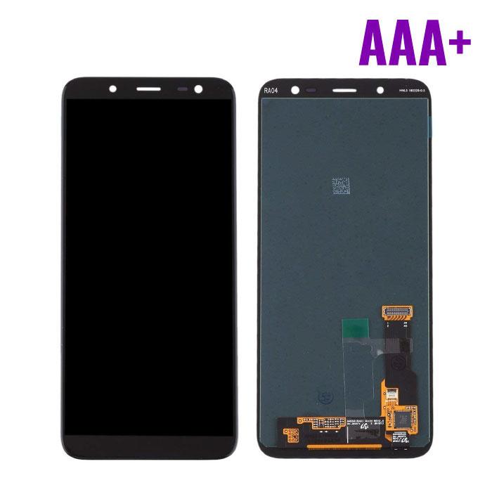 Samsung Galaxy A6 2018 A600 Scherm (Touchscreen + AMOLED + Onderdelen) AAA+ Kwaliteit - Zwart