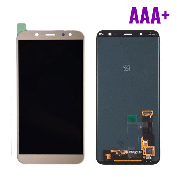 Stuff Certified® Samsung Galaxy A6 Plus 2018 A605 Scherm (Touchscreen + AMOLED + Onderdelen) AAA+ Kwaliteit - Goud
