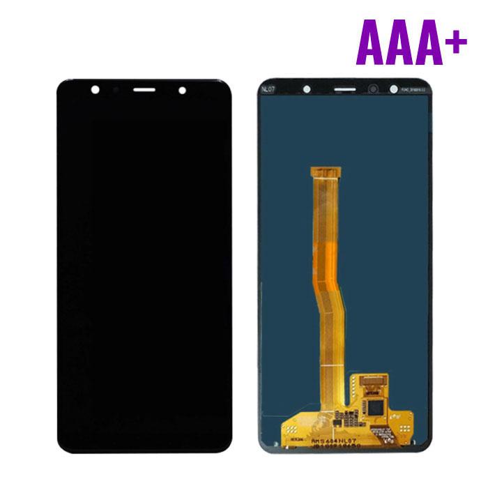 Samsung Galaxy A7 2018 A750 Scherm (Touchscreen + AMOLED + Onderdelen) AAA+ Kwaliteit - Zwart