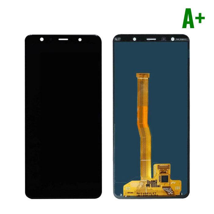 Samsung Galaxy A7 2018 A750 Scherm (Touchscreen + AMOLED + Onderdelen) A+ Kwaliteit - Zwart