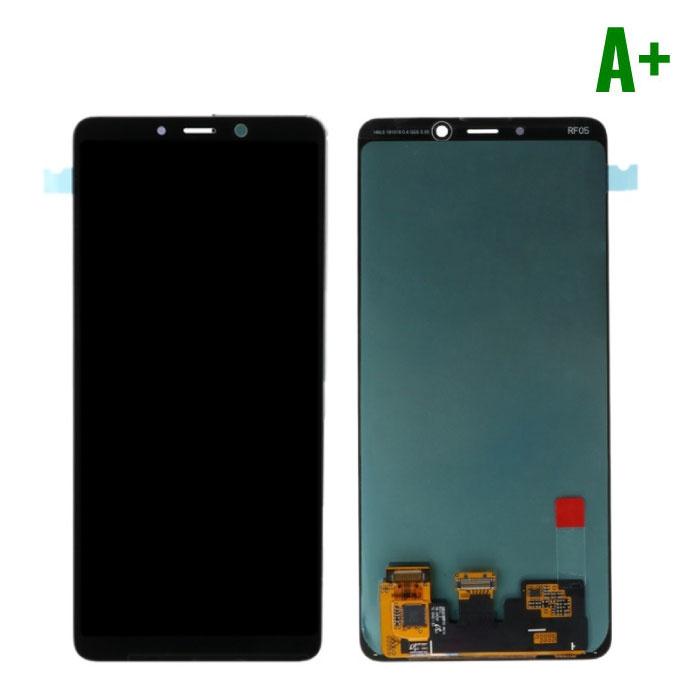 Stuff Certified® Samsung Galaxy A9 2018 A920 Scherm (Touchscreen + AMOLED + Onderdelen) A+ Kwaliteit - Zwart