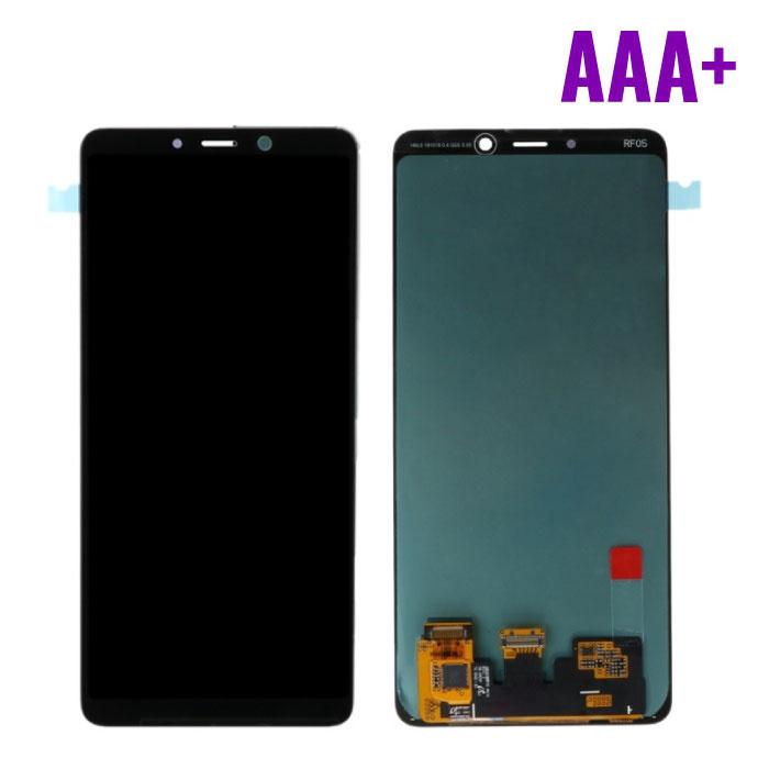 Samsung Galaxy A9 2018 A920 Scherm (Touchscreen + AMOLED + Onderdelen) AAA+ Kwaliteit - Zwart