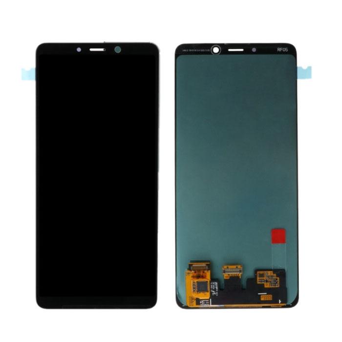 Samsung Galaxy A9 2018 A920 Scherm (Touchscreen + AMOLED + Onderdelen) A+ Kwaliteit - Zwart