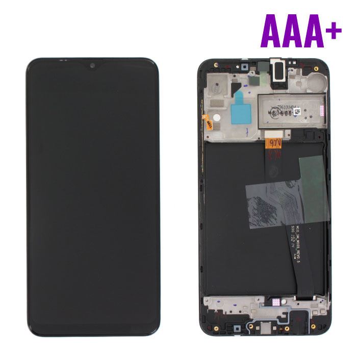 Stuff Certified® Samsung Galaxy A10 A105 Screen (Touchscreen + AMOLED + Parts) AAA + Quality - Black