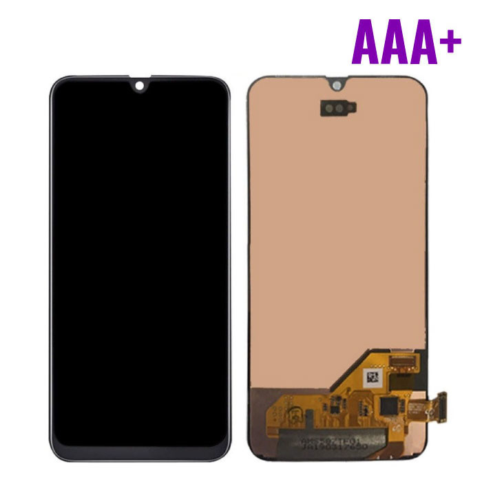 Stuff Certified ® Samsung Galaxy A10 A105 Screen (Touchscreen + AMOLED + Parts) AAA + Quality - Black - Copy