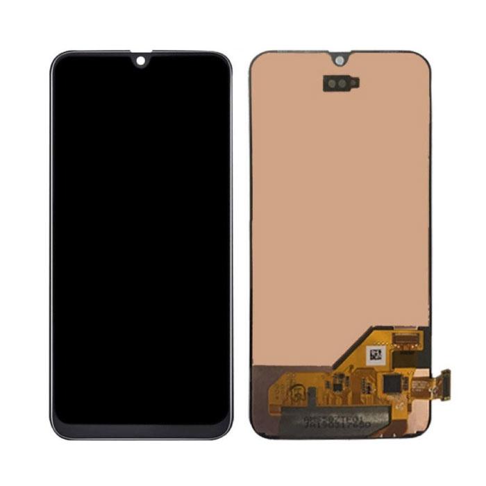 Samsung Galaxy A40 A405 Scherm (Touchscreen + AMOLED + Onderdelen) AAA+ Kwaliteit - Zwart