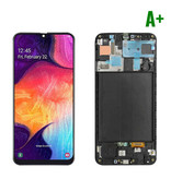 Stuff Certified ® Samsung Galaxy A10 A105 Screen (Touchscreen + AMOLED + Parts) A + Quality - Black - Copy - Copy