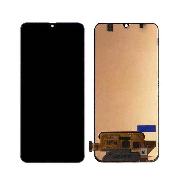 Samsung Galaxy A70 A705 Bildschirm (Touchscreen + AMOLED + Teile) A + Qualität - Schwarz
