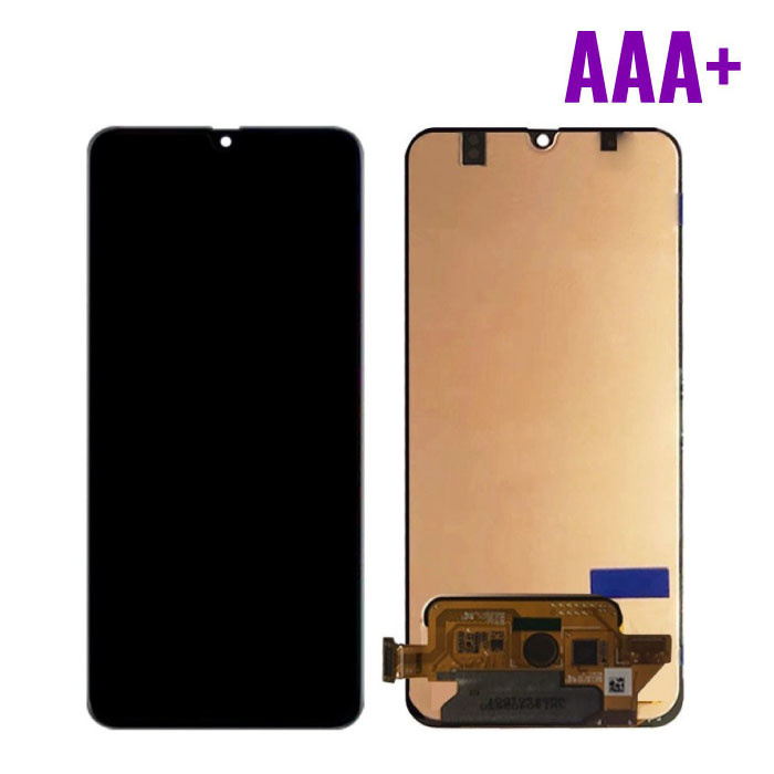 Samsung Galaxy A70 A705 Scherm (Touchscreen + AMOLED + Onderdelen) AAA+ Kwaliteit - Zwart