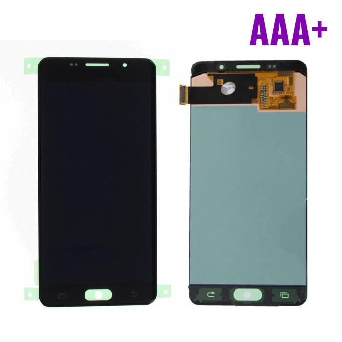 Samsung Galaxy A5 2016 A510 Scherm (Touchscreen + AMOLED + Onderdelen) AAA+ Kwaliteit - Zwart