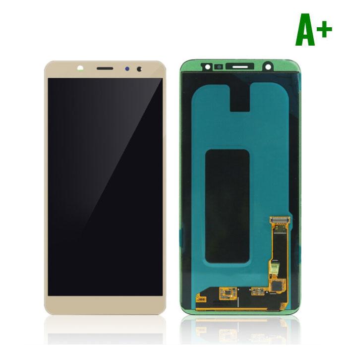 Samsung Galaxy A6 2018 A600 Scherm (Touchscreen + AMOLED + Onderdelen) A+ Kwaliteit - Goud