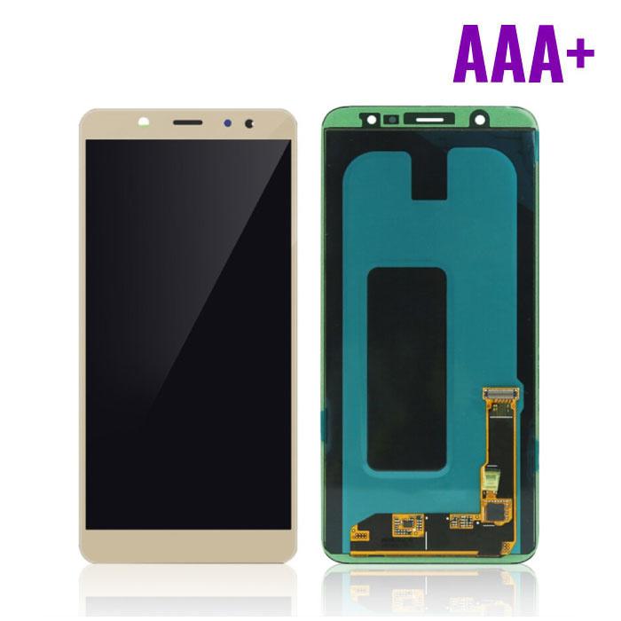 Samsung Galaxy A6 2018 A600 Scherm (Touchscreen + AMOLED + Onderdelen) AAA+ Kwaliteit - Goud