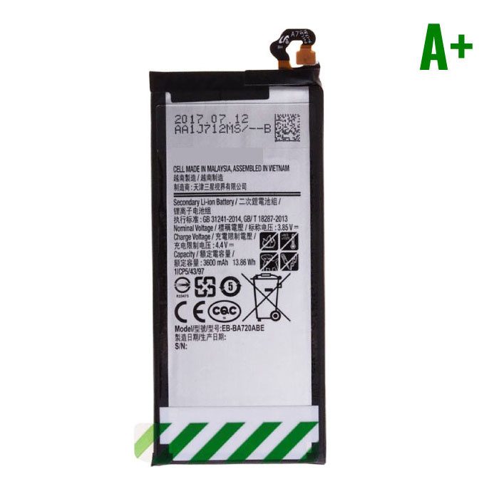 Stuff Certified ® Samsung Galaxy J7 2017 Batterij/Accu A+ Kwaliteit
