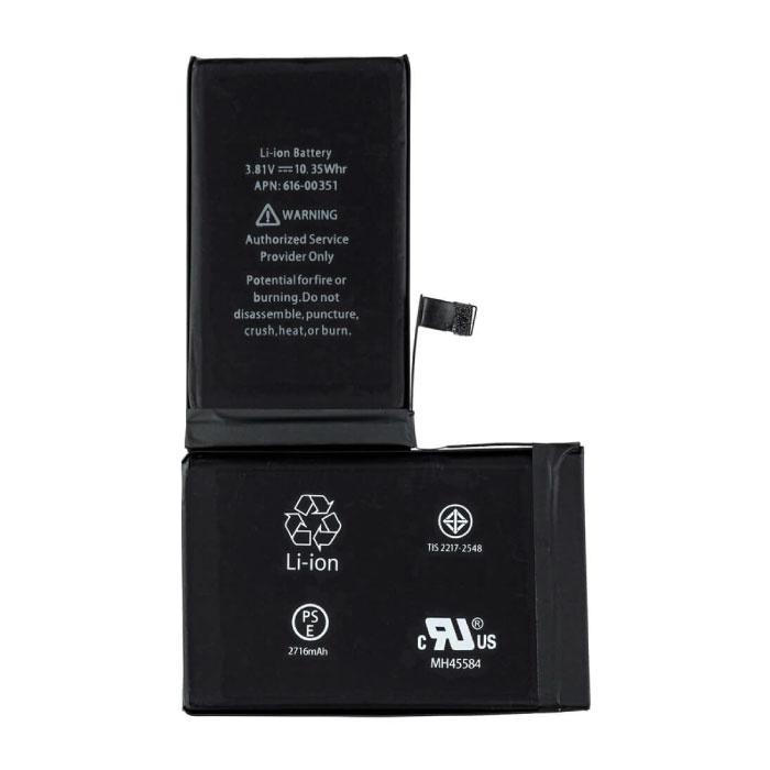 Batterie iPhone X / Qualité Accu A +