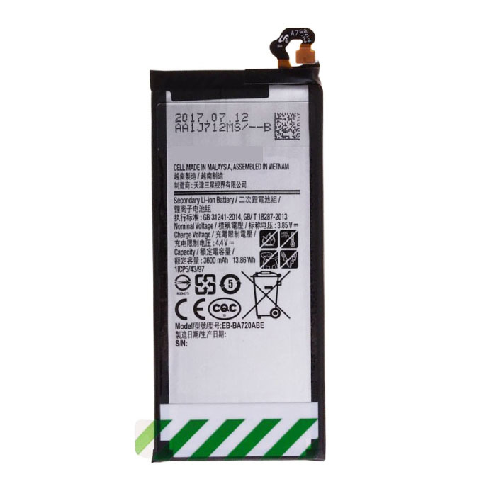 Stuff Certified® Samsung Galaxy J7 2017 Battery + AAA + Quality