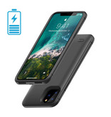Stuff Certified® iPhone 11 4000mAh Slim Powercase Powerbank Charger Battery Cover Case Case Black