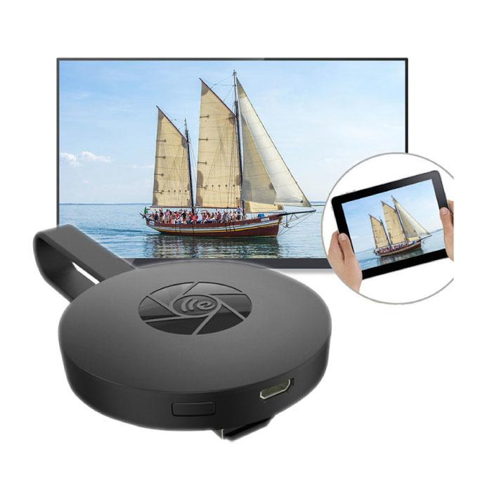 MiraScreen G2 Miracast TV Stick 1080p HDMI Receptor WiFi Receptor de pantalla Cast iPhone y Android
