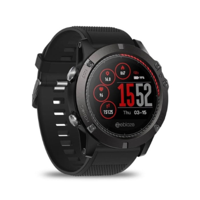 VIBE 3 SmartWatch intelligent Band Smartphone Fitness Sports Tracker activité Regarder OLED iOS iPhone Android Samsung Huawei Noir