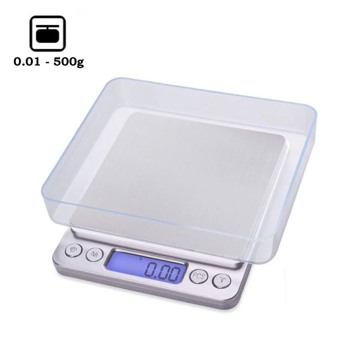 Digital Precision Portable Balance LCD Scale Weighing Scale 500g - 0.01g