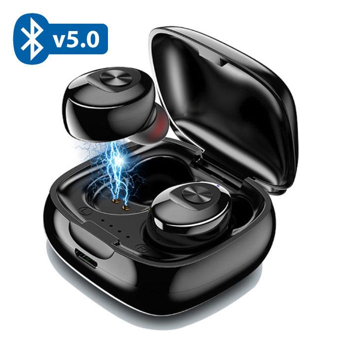 X7 TWS Draadloze Oortjes Bluetooth 5.0 Air Wireless Pods Earphones Earbuds Zwart