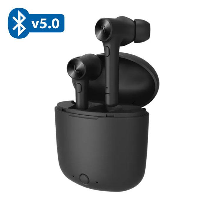 Hi TWS Draadloze Bluetooth 5.0 Oortjes Air Wireless Pods Earphones Earbuds Zwart
