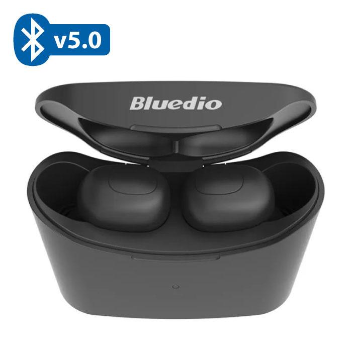 T-Elf Mini TWS Draadloze Bluetooth 5.0 Oortjes Air Wireless Pods Earphones Earbuds Zwart