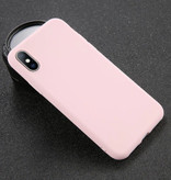 USLION Ultraslim iPhone 5S Silicone Case TPU Case Cover Pink