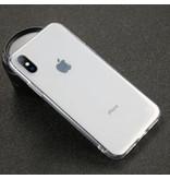 USLION Ultraslim iPhone 5S Silicone Hoesje TPU Case Cover Transparant