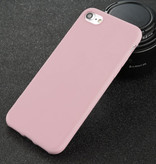 USLION Ultraslim iPhone 6 Silicone Case TPU Case Cover Pink