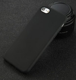 USLION Ultraslim iPhone 6 Silicone Hoesje TPU Case Cover Zwart