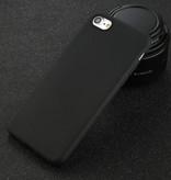 USLION iPhone 8 Ultra Slim Etui en silicone TPU Case Cover Noir