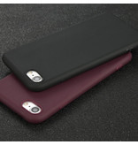 USLION Ultraslim iPhone 6S Silicone Hoesje TPU Case Cover Transparant