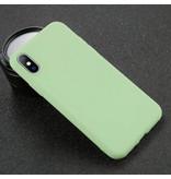 USLION iPhone XS Ultra Slim Etui en silicone TPU Light Case Cover