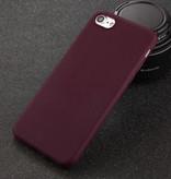 USLION iPhone XS Ultra Slim Etui en silicone TPU Case Cover Brown