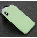 USLION iPhone XS Max Ultra Slim Etui en silicone TPU Light Case Cover