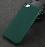 USLION iPhone 11 Ultra Slim Etui en silicone TPU couverture vert