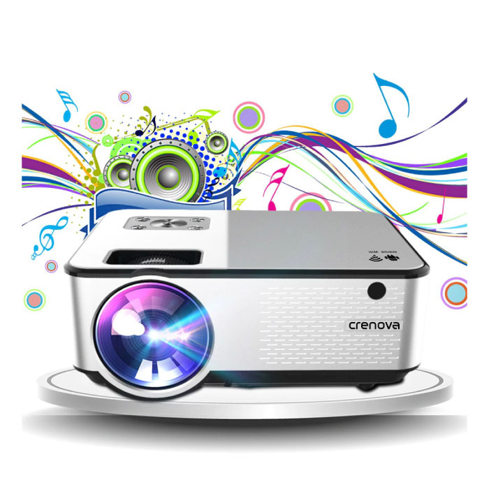 C9 LED Projector - Beamer Home Media Player